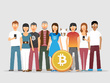 Share your link on 200 large Bitcoin Google Plus community
