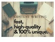 Write SEO articles and blog contents
