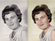 Colourise a black and white portrait