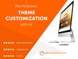 ★ WordPress Theme Customization Service ★