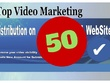 50 Video Submissions with Backlinks from High DA Websites