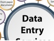 Do many types of data entry for 3 hours