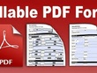 Edit PDF or convert PDF to fillable form