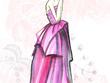 Creative fashion design illustrations