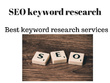 Provide SEO Keyword Research & Find the Best Search Terms