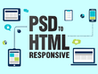 Convert PSD To HTML Responsive Bootstrap 4