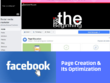 Create Facebook page and its optimization