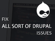 Fix and Customize your Drupal  Website