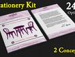 Design unique professional business stationery set