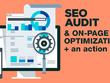 Do express website seo audit  and provide a plan of action