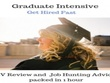 Provide a graduate CV review & job hunting advice in 1 hour