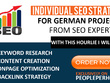 Do individual SEO strategy for german projects