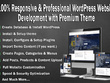 Develop 100% responsive WordPress website with premium theme