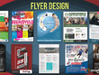Design single or double sided unique professional flyers