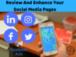 Review and enhance your social media pages