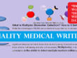 Deliver 500+ words of quality medical writing in 5 days
