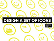 Create an icon set (5 icons) + unlimited revisions
