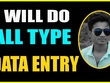 Do Data Entry,Typing,PDF Conversion, Data Mining,