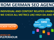Build strong individual german backlinks for better rankings