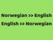 Accurately Translate Norwegian To English (500 WORDS)