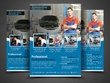 Design business flyer , brochure and poster within 24 hours.