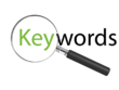 Search keywords for your SEO optimized website