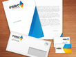 Design invitation card, Business Card, Letterhead and Envelope