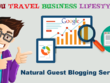 Guest post on edu fashion travel business health blogs dofollow