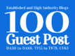 Guest Post 100 High Authority Websites, DA30-95 [Limited offer]
