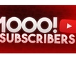 Add 1000 real and active YouTube Subscribers to your channel