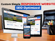 Custom Simple Responsive 5 pages Website - SEO Optimized