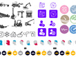 Design a set of 6 custom icons (for your website / apps / print)