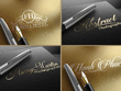 Design 5 Professional Signature Logo