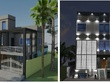 Prepare 2D floor plan and 3D images for you project 100 SFT