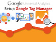 Add Google Analytics & Tag Manager, Setup Dashboard + Reporting
