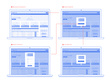 Create professional ux ui wireframes for your app or website