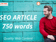 ★ Write a unique 750 word SEO article for your business/blog ★