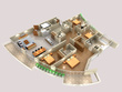 Create realistic 3d floor plan