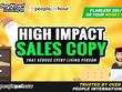 Create Unique Sales Copies, Landing Pages & Website Copywriting