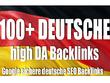 Create 70 High Authority German Backlinks  (BASIC)