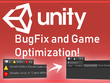 Debug, optimize and fix errors of your unity game