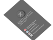 Design business card for commercial use