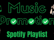 Add Your Track To Unique Spotify Playlist (✔) Verified Profile