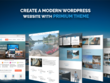 Create a modern website in WordPress  - Responsive + SEO