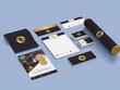 Design  a complete stationery set