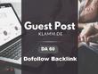 Guest Post On German Blog klamm.de DA 60