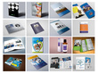 Design brochures, flyers, logos, photo editing, office branding,