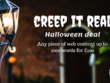 1000 words of web content (Creep it Real Halloween Deal)