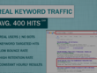 Get daily 400-500 SEO VISITORS (98+% USA) through search engine