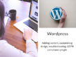 Update or add to your existing Wordpress site